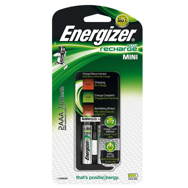 energizer accu recharge mini