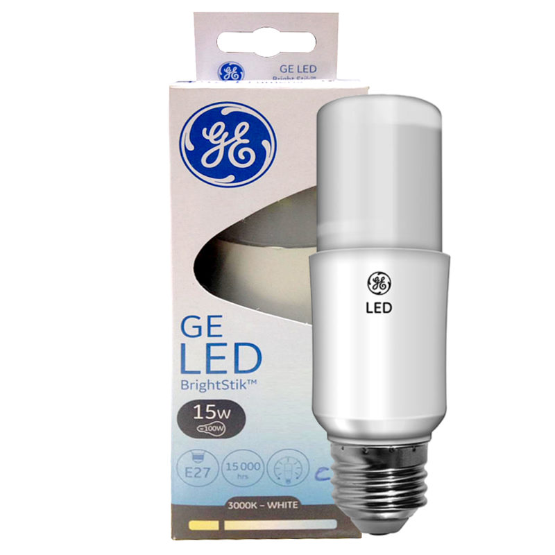 ge led brightstik 15w-e27