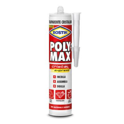 bostik poly max cristal express cartuccia