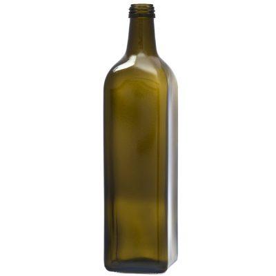 Bottiglia per olio in vetro marasca