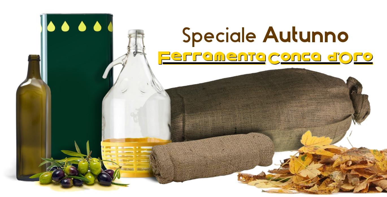 speciale autunno con ferramenta conca d'oro