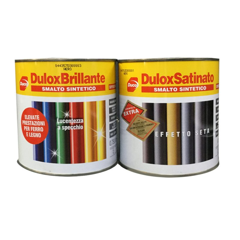 Dulox smalto sintetico brillante e satinato