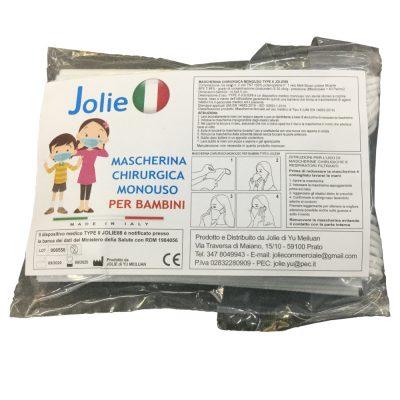 Mascherine chirurgiche per bambini 10 pz
