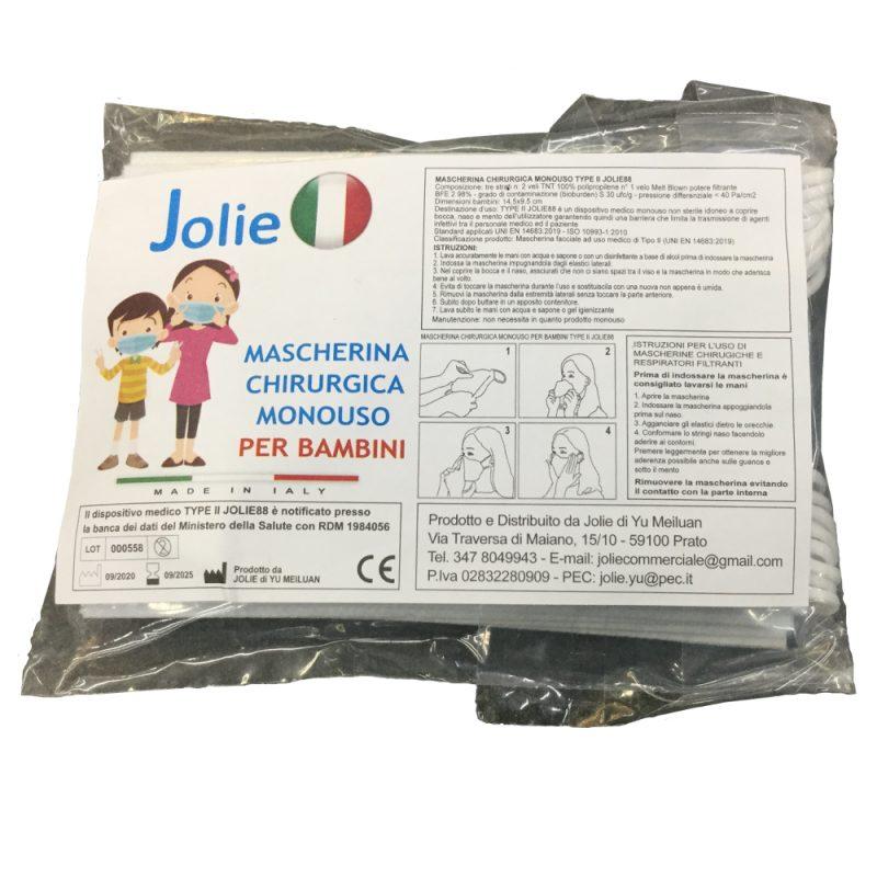 Mascherine chirurgiche per bambini Jolie